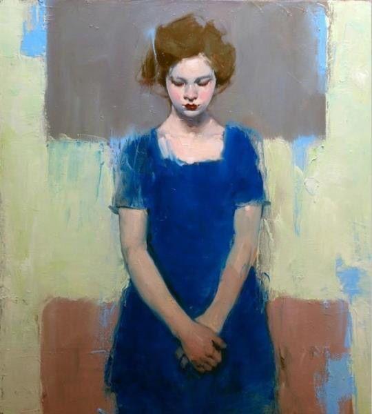 Little Girl Blue by Malcolm Liepke, 2015