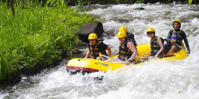 Bali White Water Rafting and Elephant Safari Ride Package