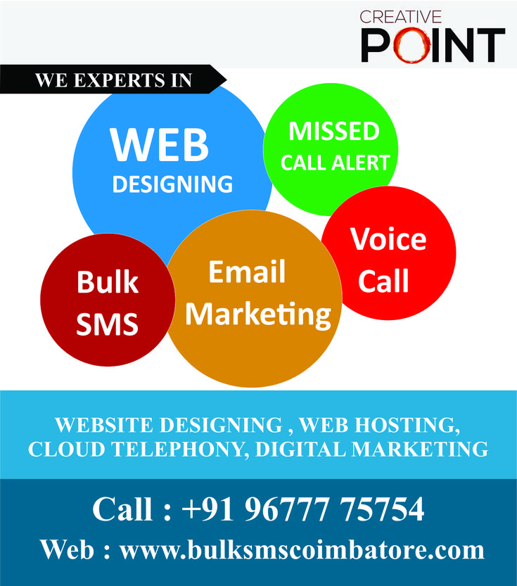 Creative Point - No.1 Bulk SMS company in coimbatore