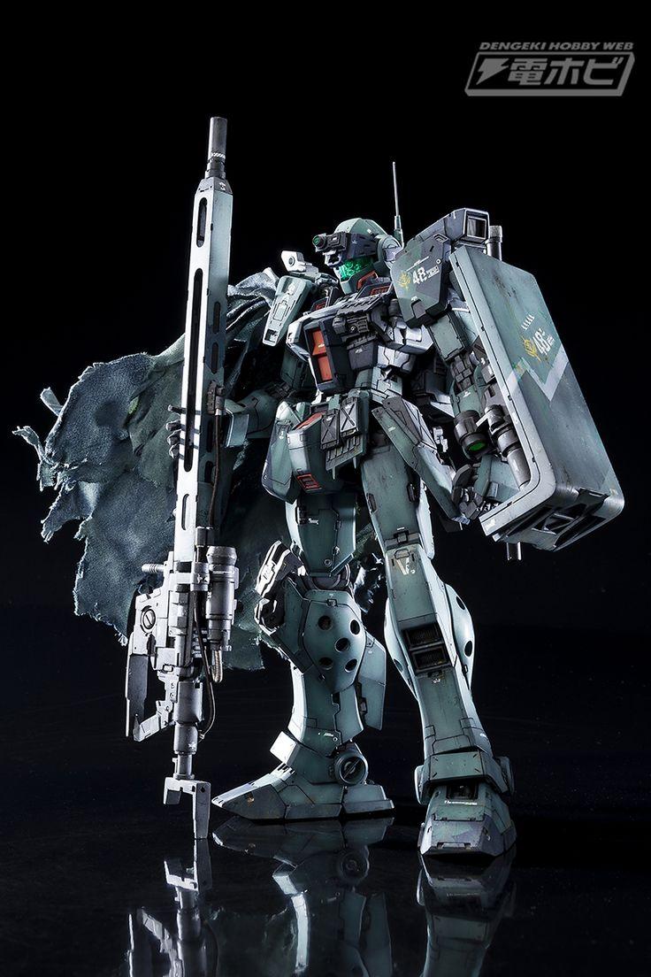Custom Build: MG 1/100 GM Sniper II [DENGEKI HOBBY] - Gundam Kits Collection News and Reviews ガンプラ作例【MG 1/100 ジム・スナイパーII】を面田項が作る!