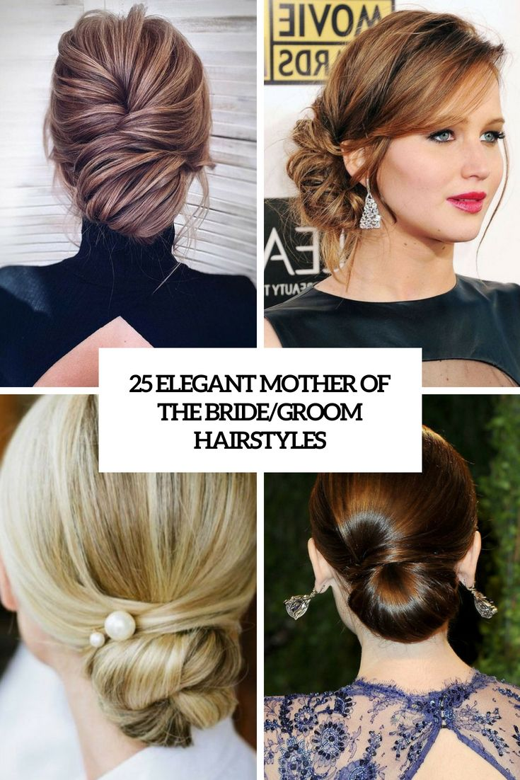 elegant mother of the bride groom hairstyles cover | hair in