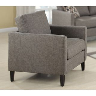 Nely Granite Polyester Chair | Overstock.com