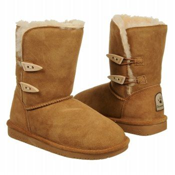 Women's BEARPAW ABIGAIL Hickory FamousFootwear.com. I Love these boots!!!!!!!!!!!!!!!!they have sheep lining in them!!!