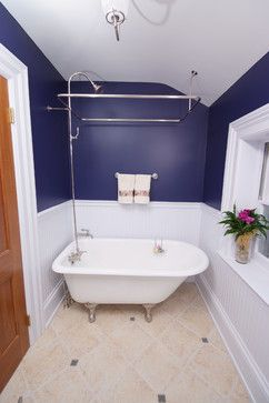 Lovely Shower Surround For Clawfoot Tub...rectangle · Small Bathroom ...
