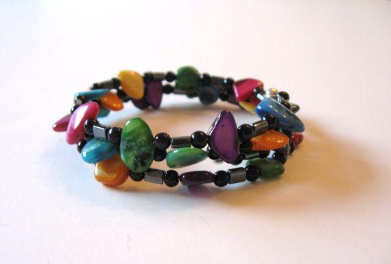 Shell Bracelets Easy To Use Colorful Bracelet Triple Wrap