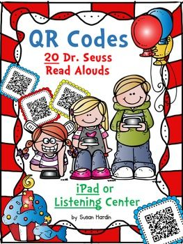"Many schools now have a B.Y.O.D. day, meaning a ""Bring Your Own Device"" day.  These QR Codes make an easy and fun way to implement this technology in the classroom.  These can be read by iPods, iPhones, iPad, or android tablets. Simply download a free QR Code reader."