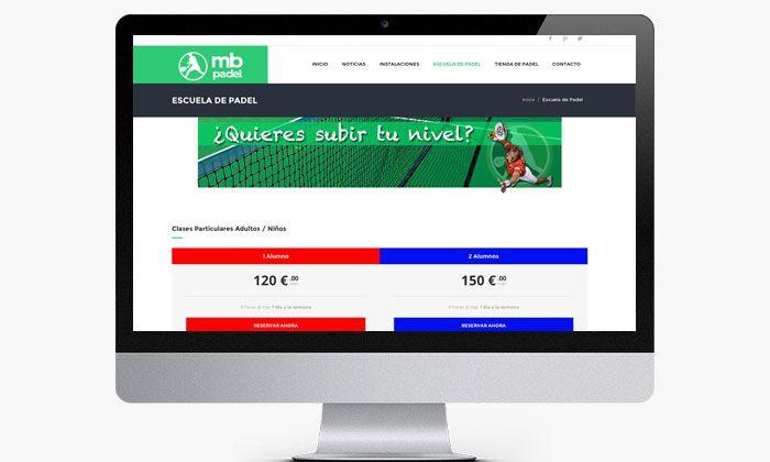http://www.basicum.es/portfolio-item/diseno-web-deportiva-mb-padel/ Diseño de sección de precios para MB  Padel creado por Basicum.es