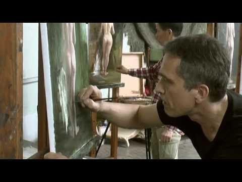 Выставка «Императорская Академия художеств. Искусство рисунка и акварели» - YouTube