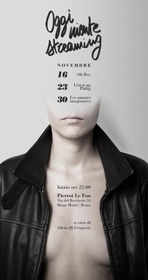 Silvia Clo Di Gregorio & Giovanni Nava November cineclub program https://www.facebook.com/pierrotleofoumonti