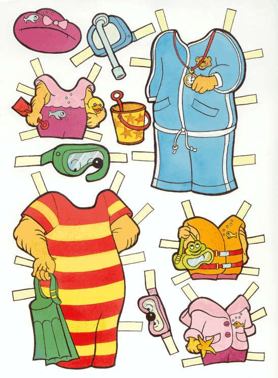 Berenstain Bears Wardrobe 7