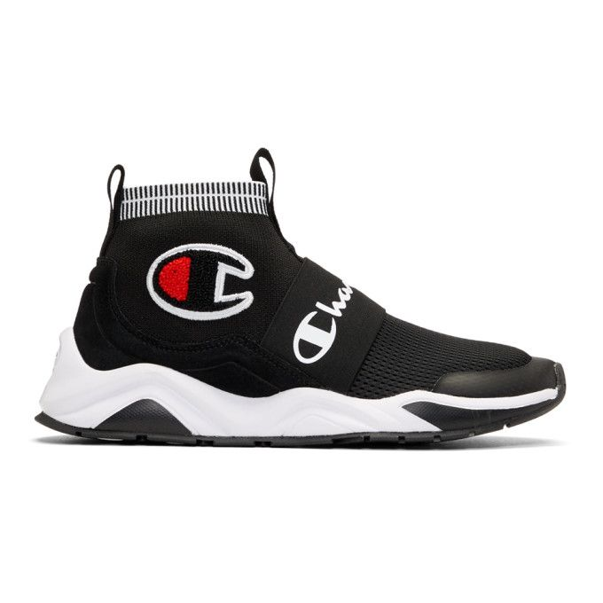 aa577093ca5 CHAMPION Black Rally Pro High-Top Sneakers.  champion  shoes ...