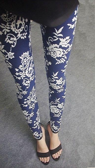 2016 Spring New Fashion Casual Cotton BRUSHED Black Milk Leggings Pants Female Elastic Plaid Graffiti Leggings Trousers Women