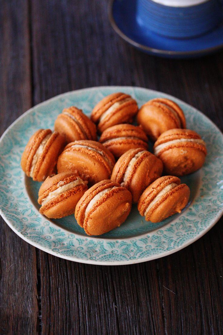 Adriano Zumbo's Homemade Salted Caramel Macarons