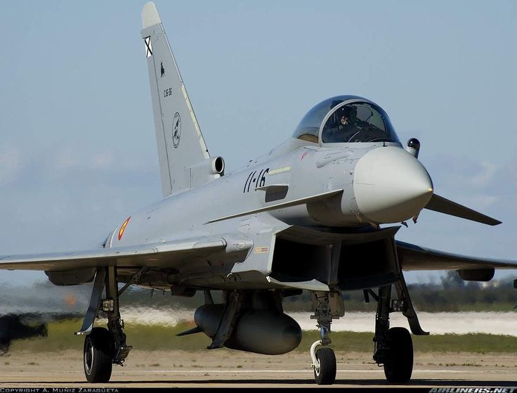 Spanish Air Force Eurofighter EF-2000 Typhoon