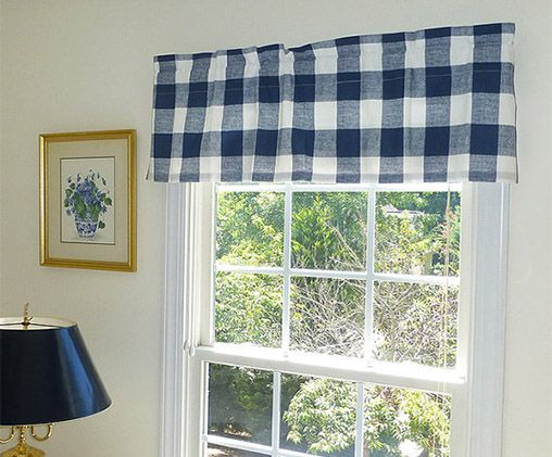 carousel designs pocket and window medium ikat blue coral navy valance rod