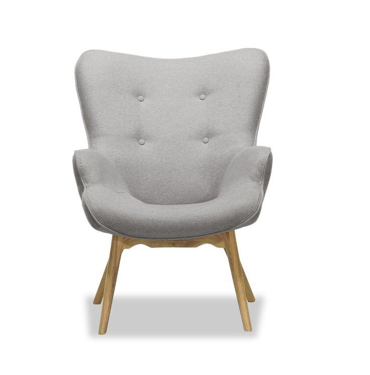 Jolene Lounge Chair | Stylish chairs, Chair, Fabric armchairs