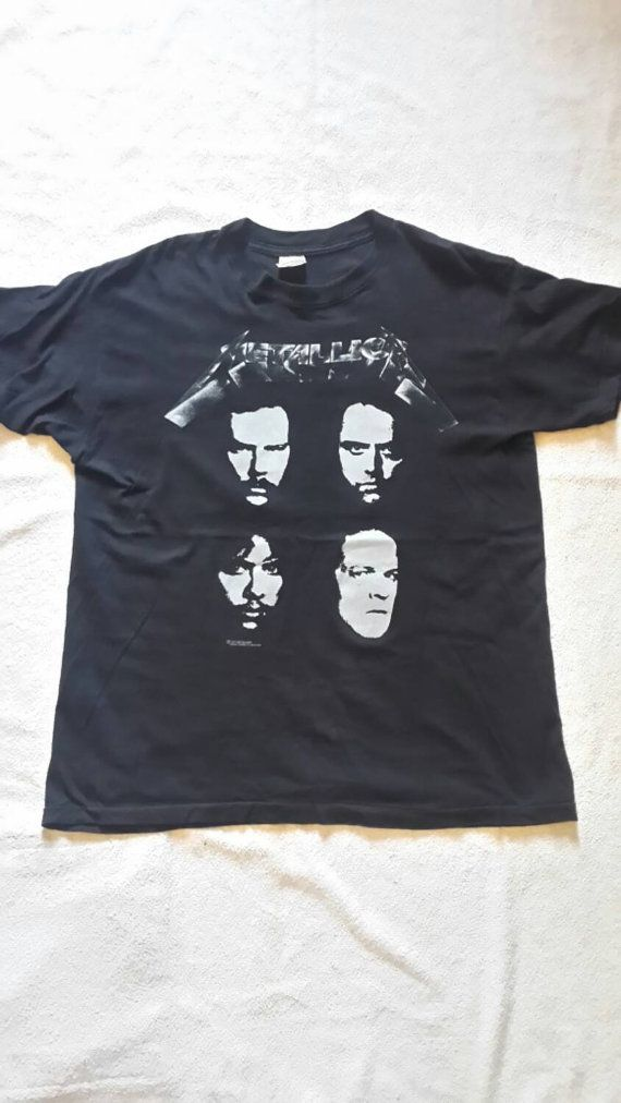 1991 Metallica Tour T Shirt by SeanScoil on Etsy