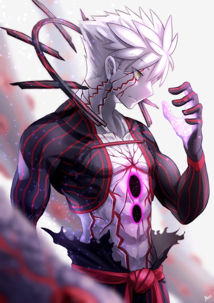 Demon God Pillar Emiya In 2020 Anime Demon Dark Anime