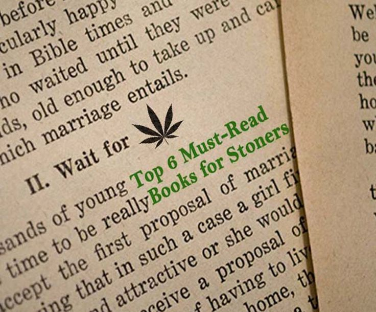 Top 6 must-read stoner books. About cannabis culture, history and marijuana growing. I read marijuana books while high.