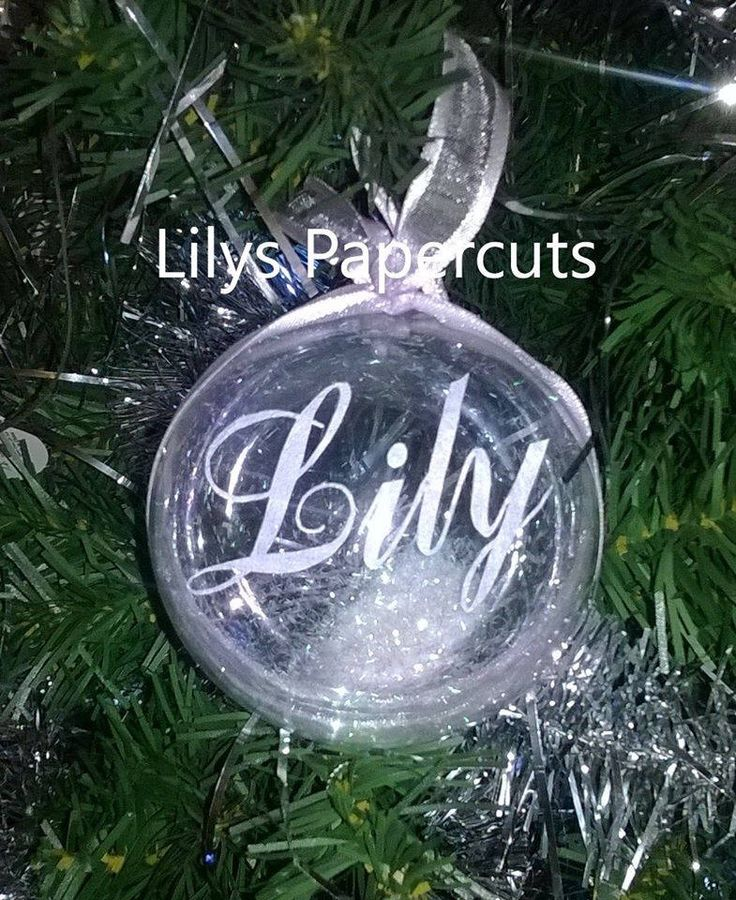 Personalised Christmas Bauble, Remembrance, Glitter, Ribbon, Bespoke, Handmade, Papercut, Decoration, Tree Gift, Unique by LilyPapercutandVinyl on Etsy https://www.etsy.com/uk/listing/517987336/personalised-christmas-bauble