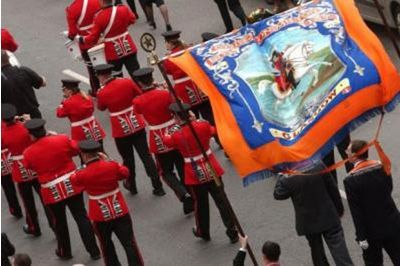 Orange Order hired Auschwitz sceptic to work on referendum campaign  Tom Gordon and Paul Hutcheon Sunday 8 February 2015  THE Orange Order hired a Holocaust sceptic to help it defend the Union, it has emerged. Vile bastards