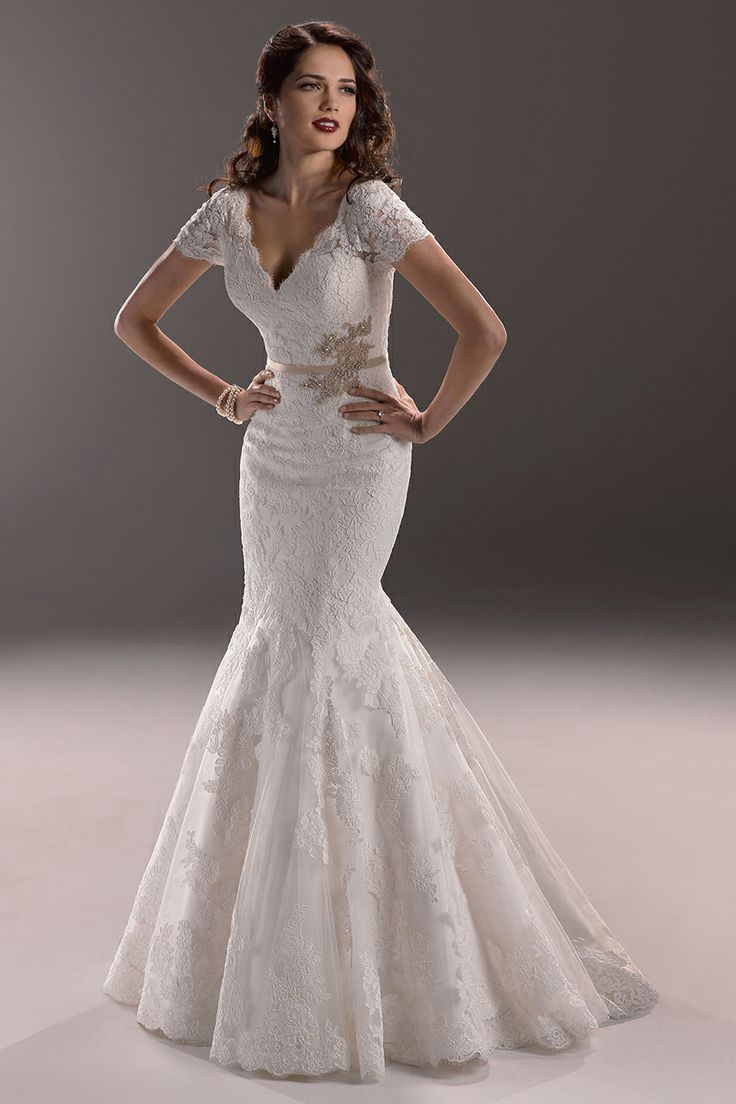 14 best maggie sottero bridal gowns images on pinterest for Maggie sottero short wedding dress