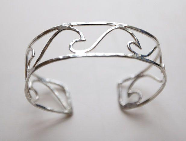 Wave Bracelet By Local Cape Cod Designer Ocean Love