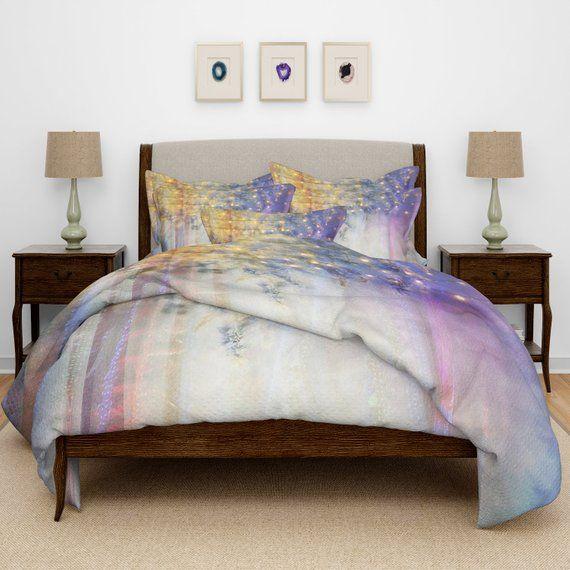 Lavender Nights Comforter Duvet Cover Pillow Shams Comforter