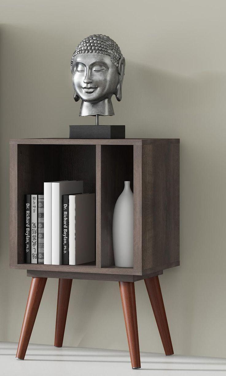 Chubby Small Terrarum Walnut Bookcase