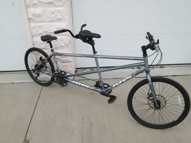 Latest Tandem Bicycle For Sales Tandembicycle Tandembike Bicycle Bike Silver Khs Tandem 750 00 0 Bids End Date Mo Tandem Bicycle Tandem Bike Bicycle