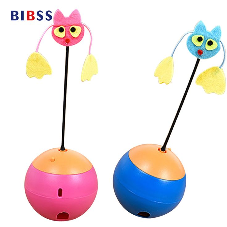 BIBSS Electric Tumbler Toys Multi functional Laser Pet Cat Toys Leakage Food toys Ball Toy Products