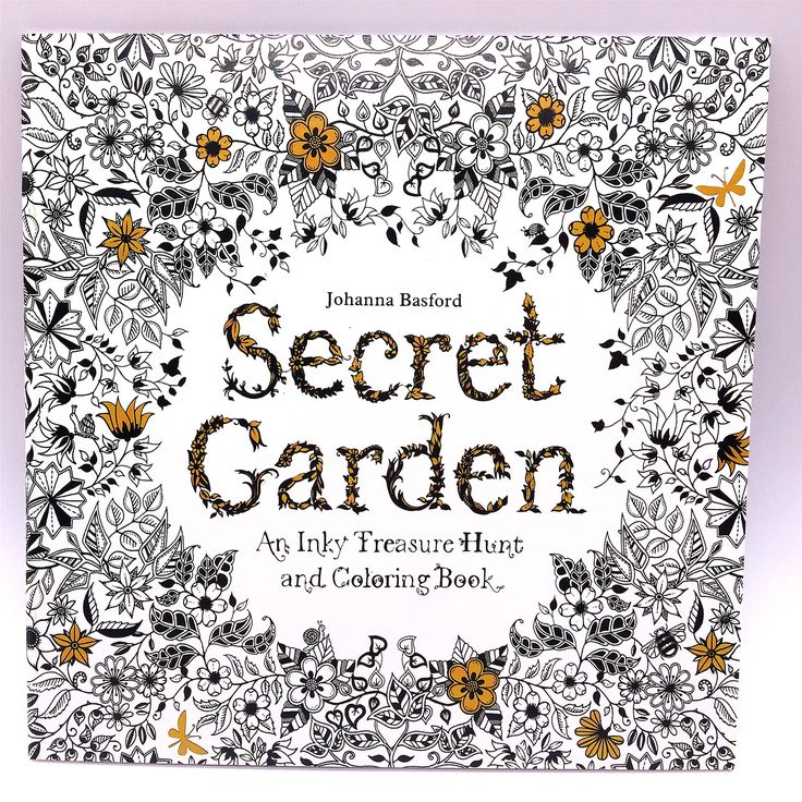 1 Pcs 24 Photos Adults Children Graffiti Book Johanna Basford Secret Garden An Inky Treasure Hunt