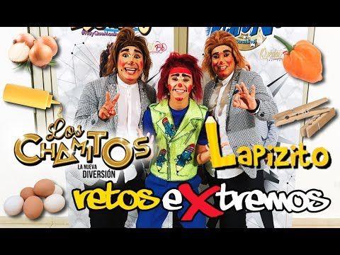 LAPIZITO RETOS EXTREMOS CON LOS CHAMITOS - YouTube