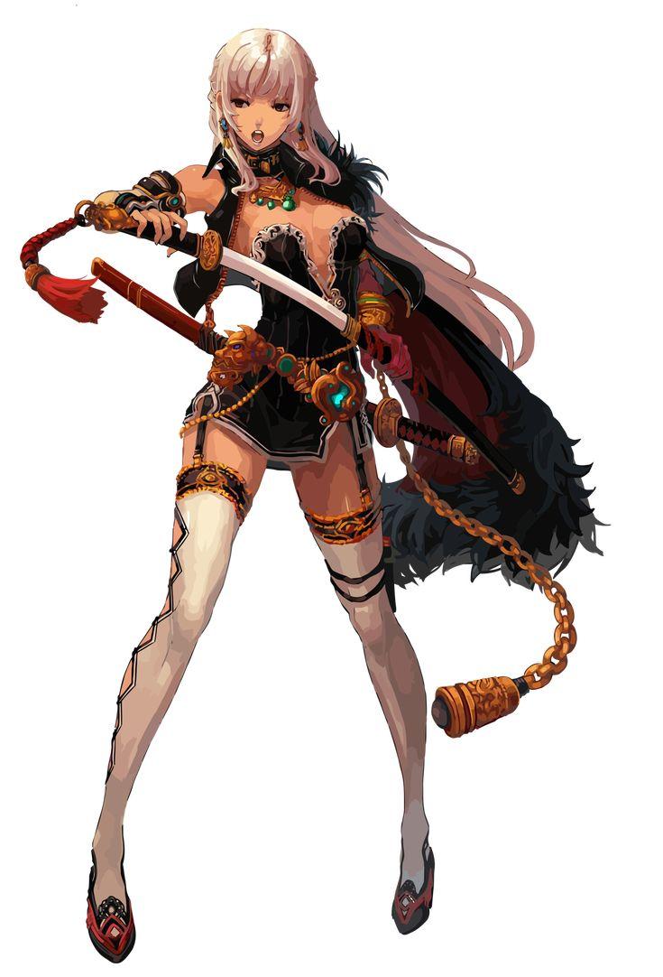 Dungeon Fighter online Female Slayer by TooneGeminiElf.deviantart.com on @DeviantArt