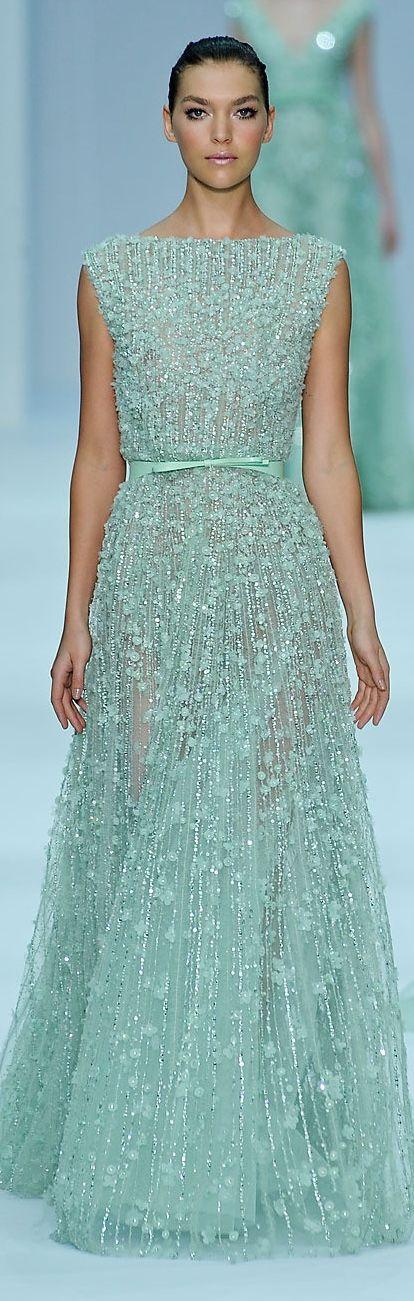 Elie Saab - Couture Spring 2012| Get Dressed