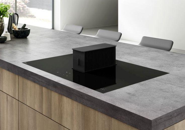 Okap #Novy One - inteligentne rozwiązanie w dziedzinie wentylacji kuchennej, czyli okap i płytę grzejną w jednym.