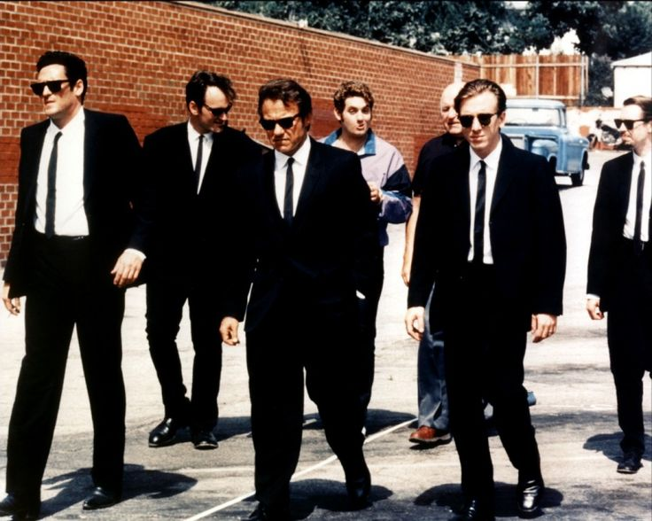 Reservoir Dogs - Steve Buscemi - Lawrence Tierney - Quentin Tarantino - Tim Roth - Michael Madsen - Harvey Keitel
