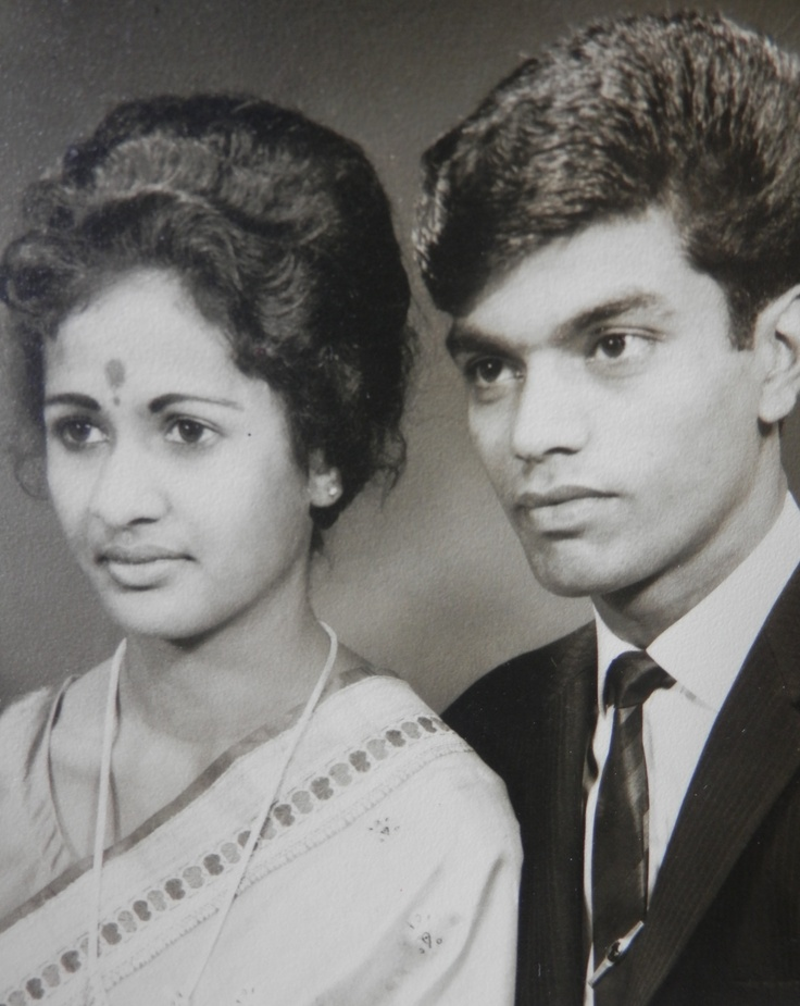 Story of my grandparents, Savi and Logan, grew up in South Africa, moved to London at the age of 18, and of Indian descent.