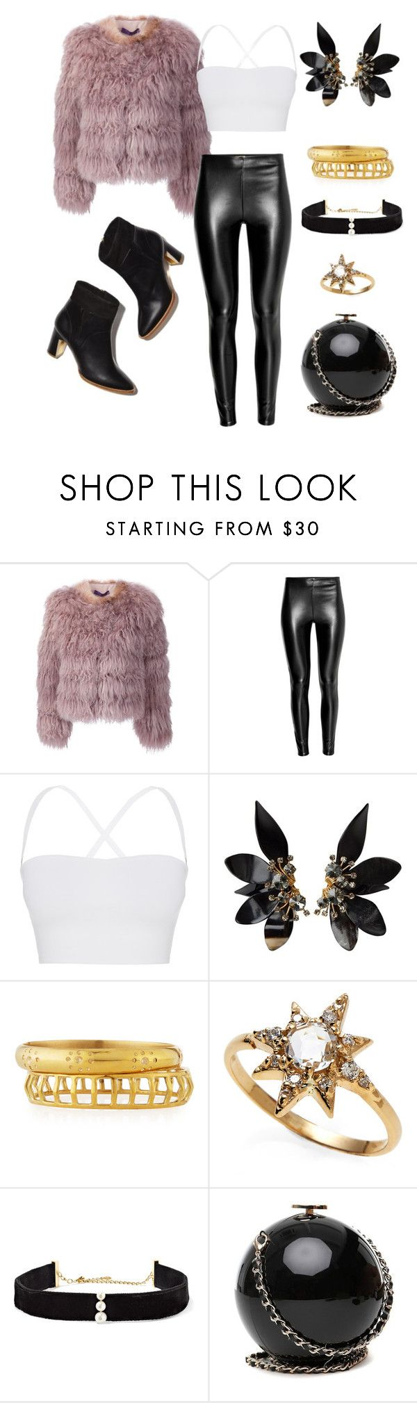"""I need a gangsta..."" by hayleylovee ❤ liked on Polyvore featuring Ralph Lauren Black Label, Theory, Marni, Ashley Pittman, Anzie, Anissa Kermiche, Rupert Sanderson, SuicideSquad and ineedagangster"