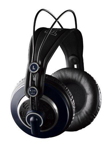 Akg K 240 Mk Ii Stereo Studio Headphones, 2015 Amazon Top Rated DJ Headphones #MusicalInstruments