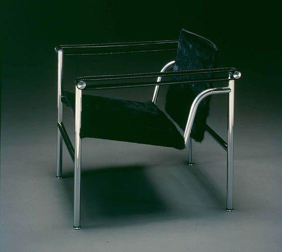 LC1 - Fauteuil à dossier basculant - Le Corbusier, Pierre Jeanneret, Charlotte Perriand, 1928