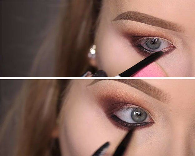 Trendy Makeup Tips :    Picture    Description  How to Line the Waterline | Rihanna Work Makeup Tutorial, check it out at makeuptutorials.c…