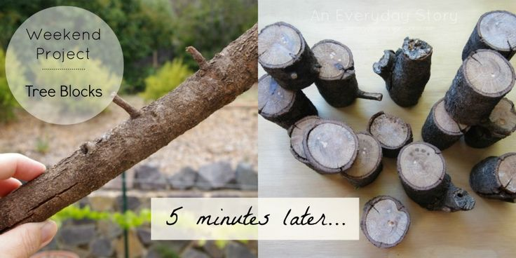 How to make tree blocks - An Everyday Story
