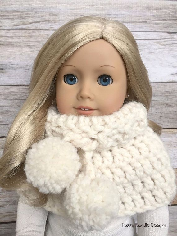 """Quick & Easy Crochet Patterns for 18"""" American Girl Dolls by Fuzzy Bundle"""