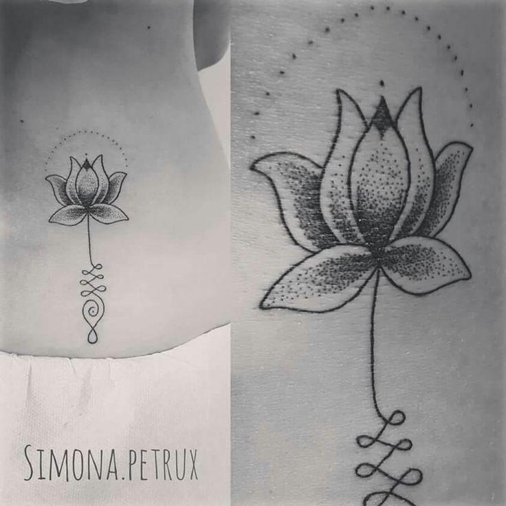 Fiore di loto unalome Simona Petrux Simona.petrux@gmail.com Instagram. SIMONA.PETRUX Fb. Simona Petrux Tattoo Sweet Mamba Tattoo Studio ROMA