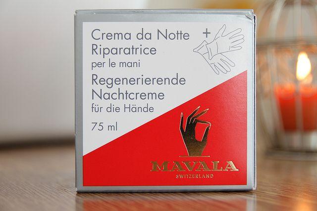 Mavala Repairing Night Cream review