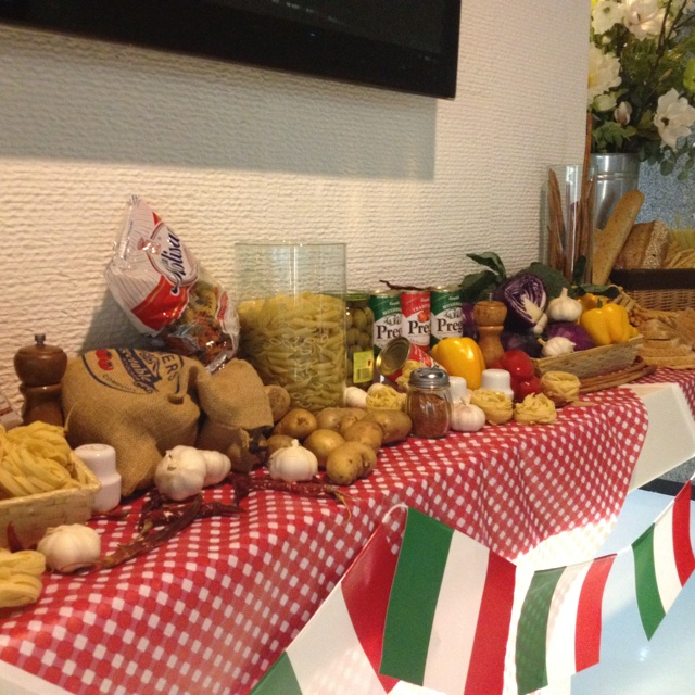 My Little italy party!