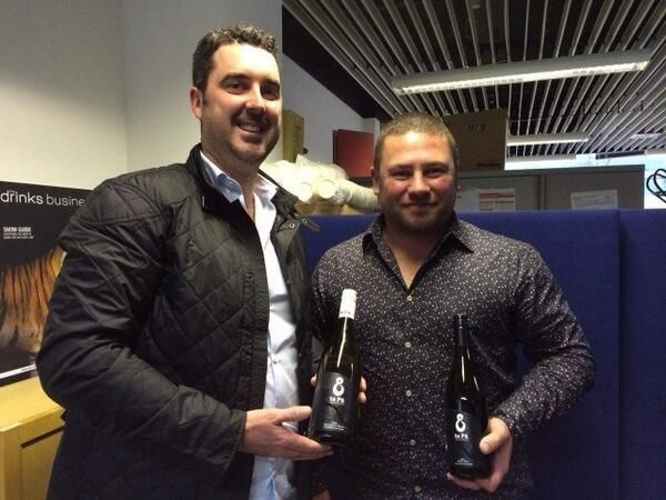 The te Pā Wines team were featured in The Drinks Business recently, after Proprietor Haysley MacDonald and Chief Winemaker Liam McElhinney visited Team DB in the UK #nzwine