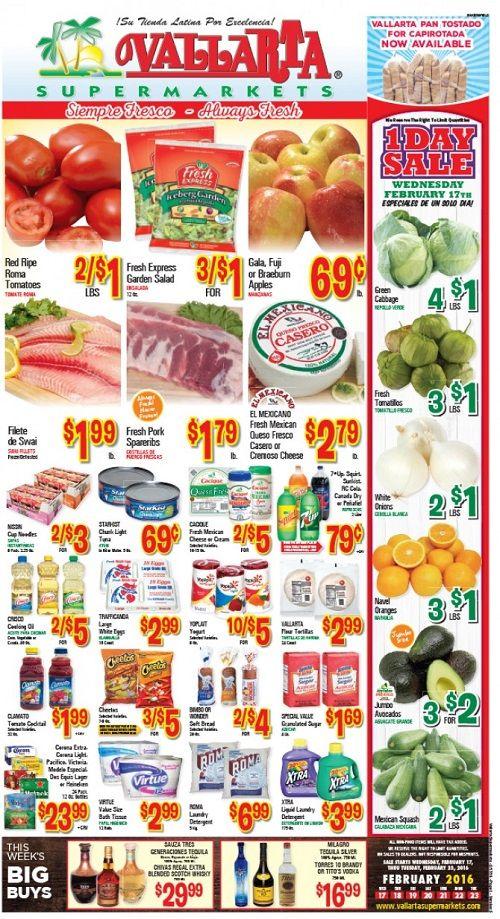 Best Value Food Flyer