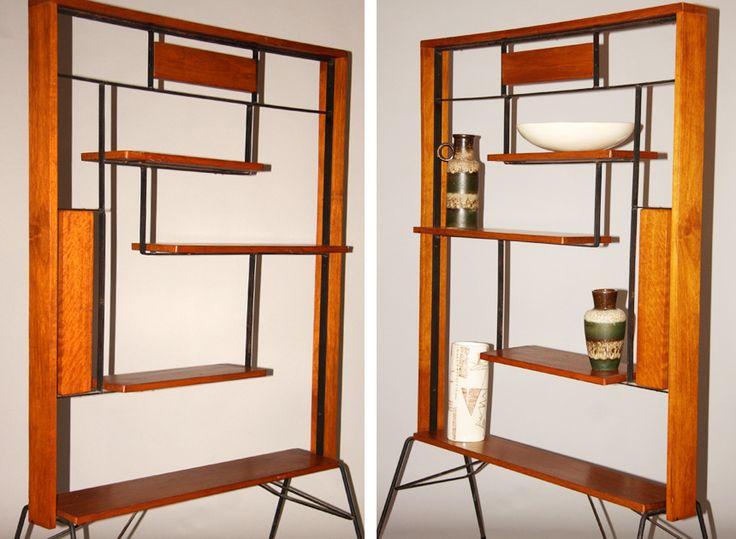 50's Wooden Room Divider